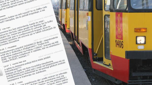Pobicie w tramwaju wywołało setki komentarzy tvnwarszawa.pl