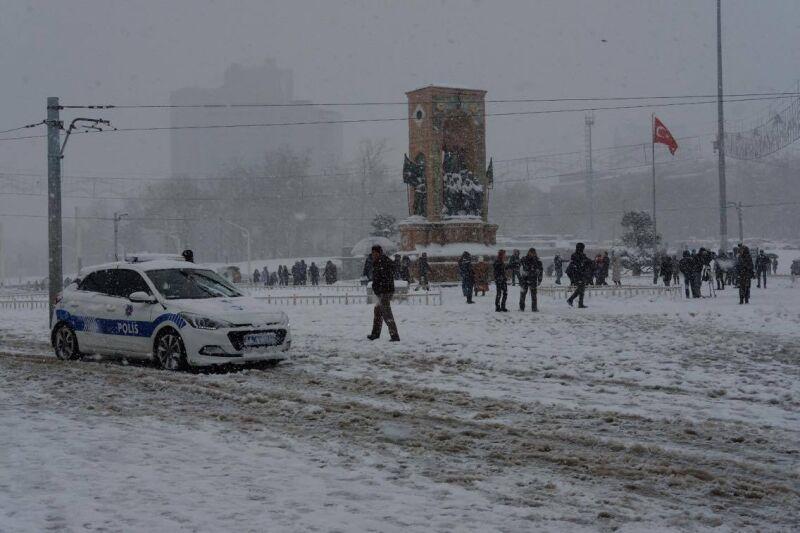 Plac Taksim Meydanı w Stambule