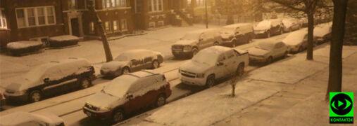 """""""Wiosna ma opóźnienie"""". W Chicago zrobiło się biało"""