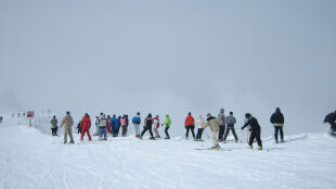 Śniegu w Alpach nie zabraknie. Wielu narciarzy natomiast nie zobaczy słońca